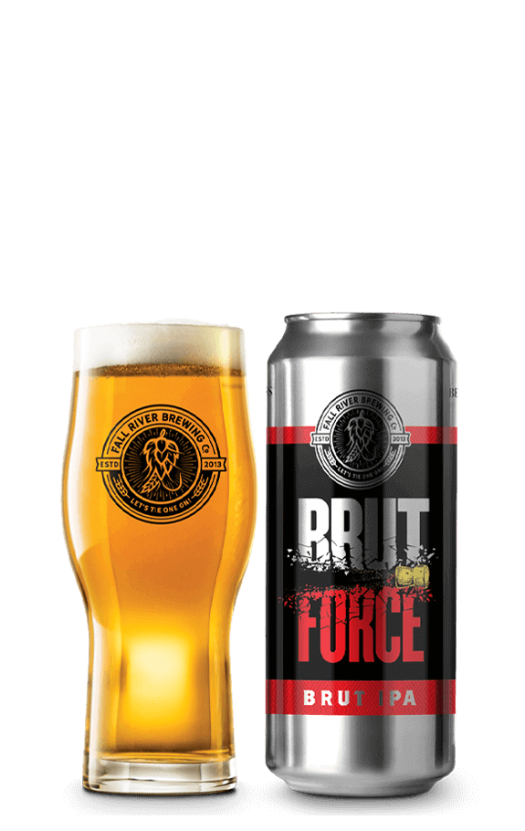Fall River Brut Force Brut IPA