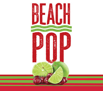 Fall River Beach Pop Cherry Lime Hard Seltzer