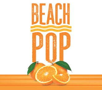 Fall River Beach Pop Navel Orange Hard Seltzer