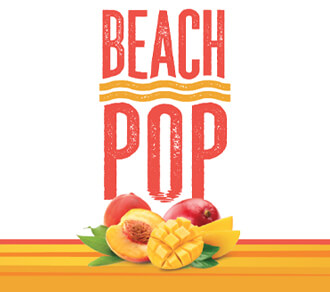 Fall River Beach Pop Peach Mango Hard Seltzer